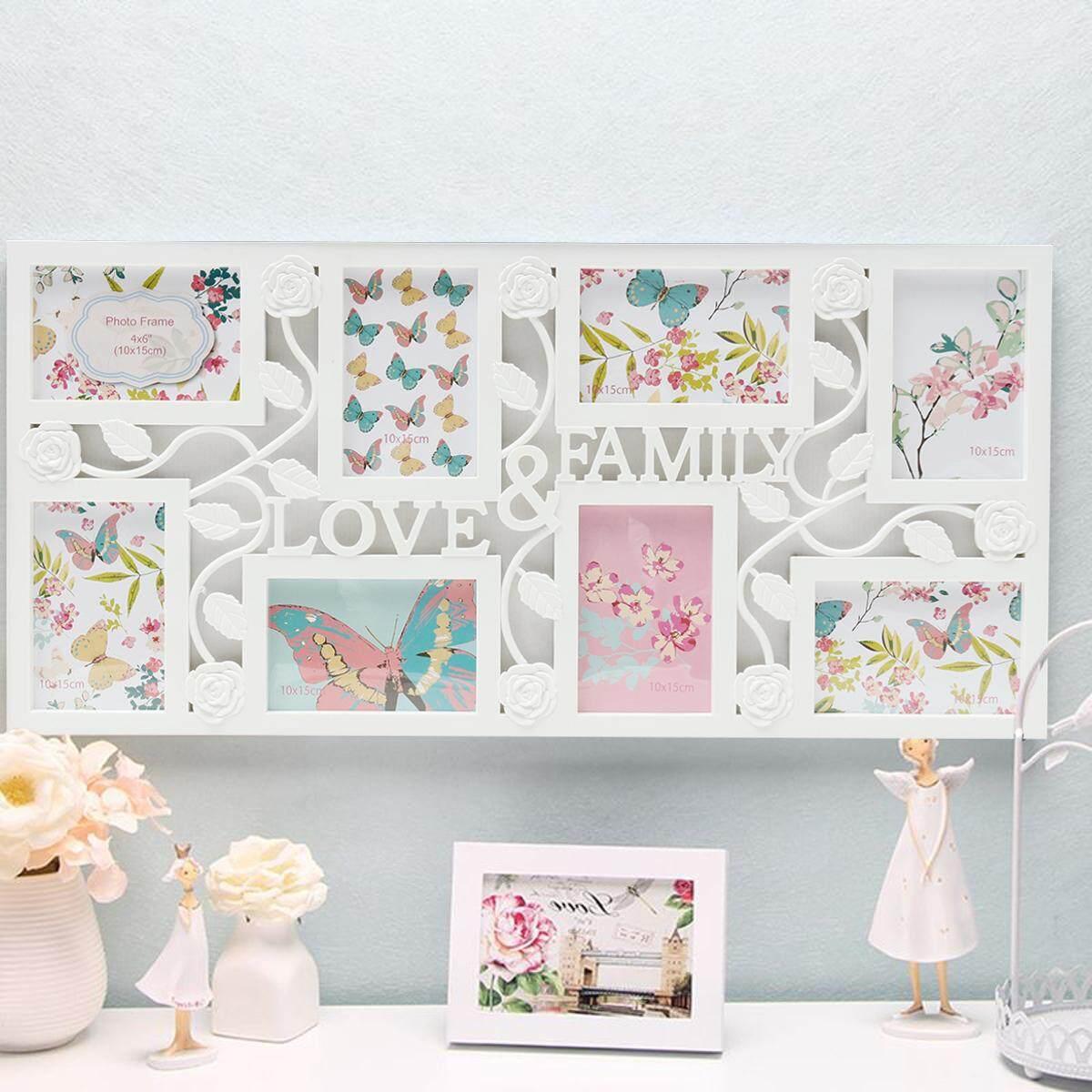 Multi Photoframe Frames Love Family Picture Wall Decor Photo Frame Gift - intl