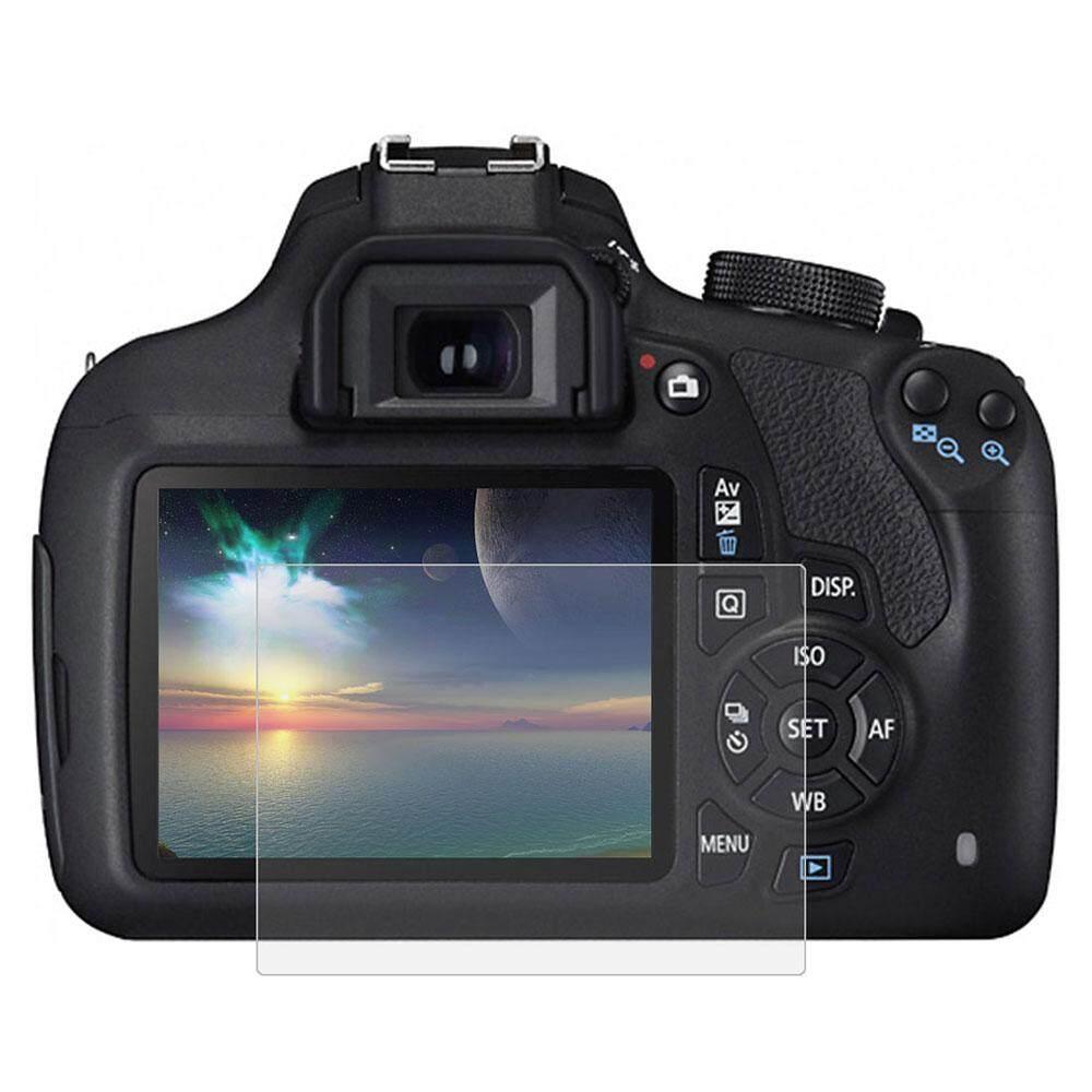Puluz SLR Film Kamera Tahan Lama Kaca Antigores 9 H Anti Aksesori Sidik Jari untuk Canon 1200D/1300D-Intl