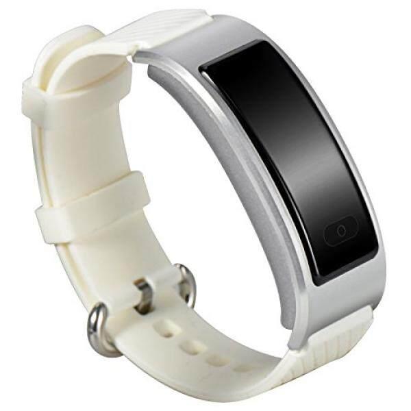 Anti-Air Bluetooth Pintar Pergelangan Tangan Tali Jetstar IP 68 Renang Perekam Nirkabel Panas Kecepatan Kebugaran Pelacak untuk Ios iPhone Android Samsung htc Lg Ponsel Pintar (Putih) -Internasional