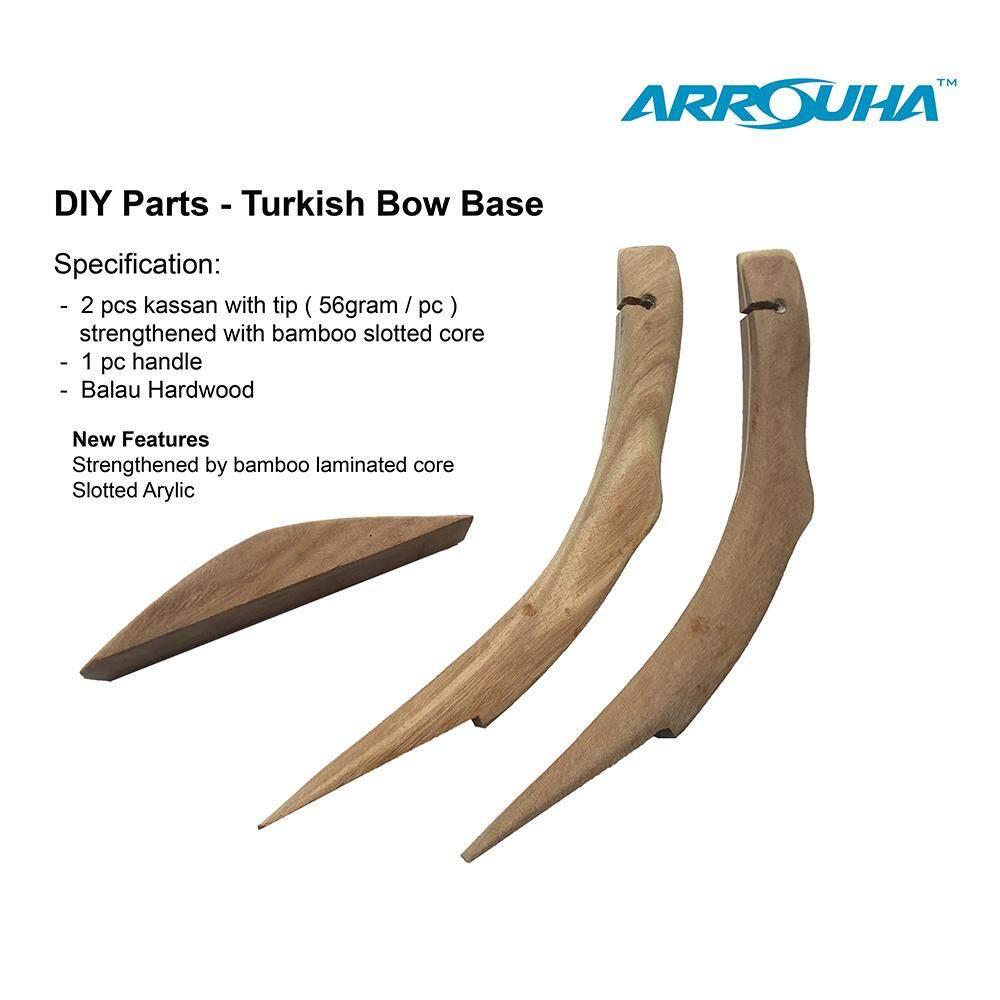 DIY Turkish Bow Kassan and Handle for 35-45lbs