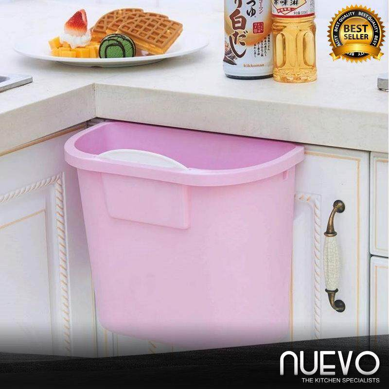 Nuevo Creative Home Hanging Trash Can Kitchen Artifact Equipment Thickened Plastic Cabinet Trash Can