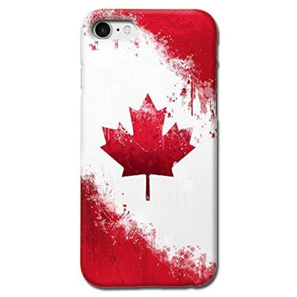 Canada National Flag Design Matte Hard Case Cover For Iphone 7 Iphone 8 [Scratch Resistant] - intl