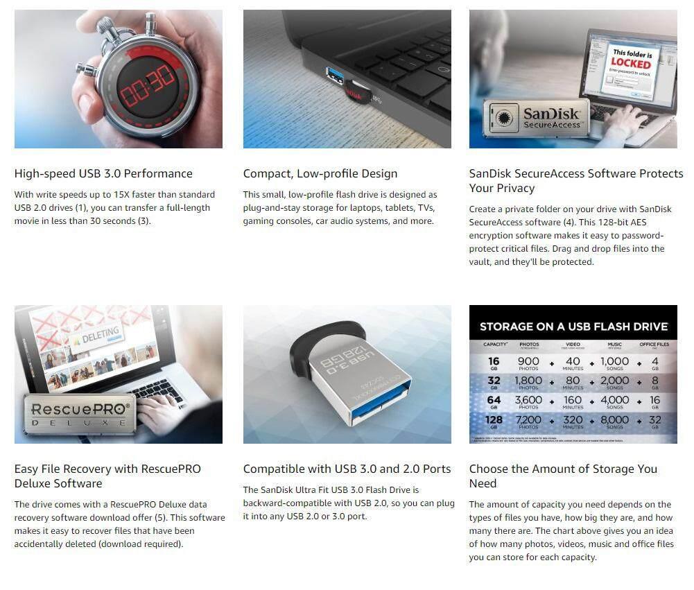 Sandisk Ultra Fit 32gb 150mb S High Speed Usb 30 Flash Drive Malaysia Original Flair Cz73 Ultrafit Des