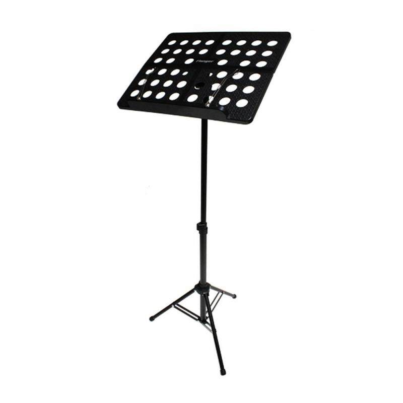 Fortunet Flanger FL-05R Collapsible Sheet Music Score Tripod Stand Holder Bracket Aluminum Alloy With Water-resistant Carry Bag For Orchestra Violin Piano Guitar Instrument Performance Malaysia