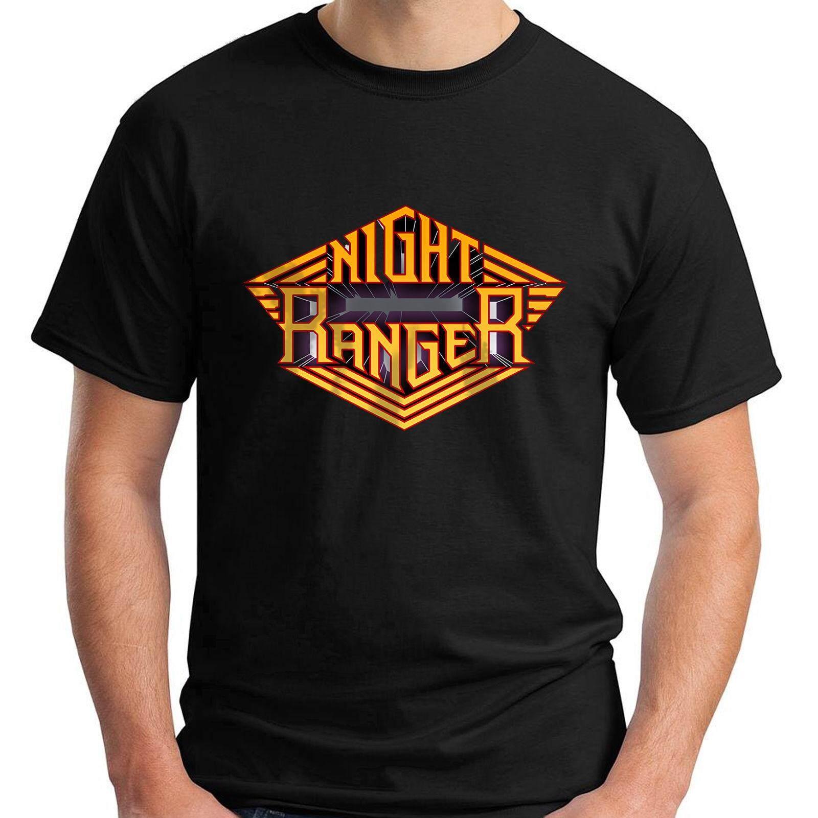 Malam Ranger Keras Rock Kaos Katun Pria Lengan Pendek Kaus Manusia Kaus Bulat-Internasional