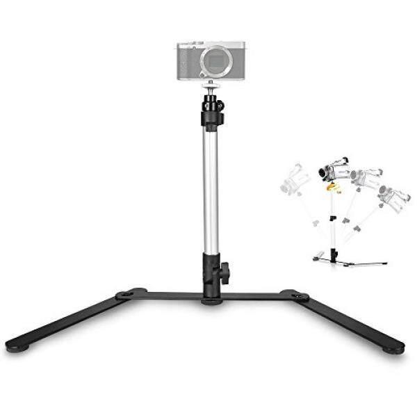 Utebit Copy Penyangga Macro Bisa Diputar Kamera Meja Terbaik Monopod Penyangga dengan 360 Derajat Putar Bola Kepala Dudukan dan 1/4 Sekrup untuk Miniatur Kamera DSLR Di Bawah 300G Smartphone Video Fotografi Produk Shoot-Internasional