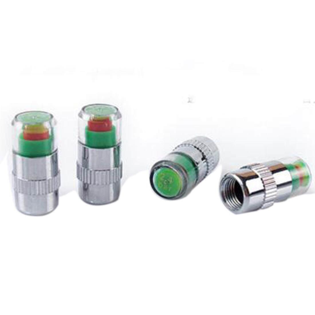 4 pcs 2.4Bar (36PSI) Auto Air Pressure Alert Indicator Valve Stem Monitor Sensor Caps Car Free Shipping - intl