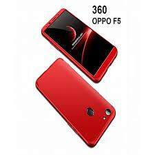 360 Degree Full Body Protection Cover Case With Tempered Glass for OPPO F5