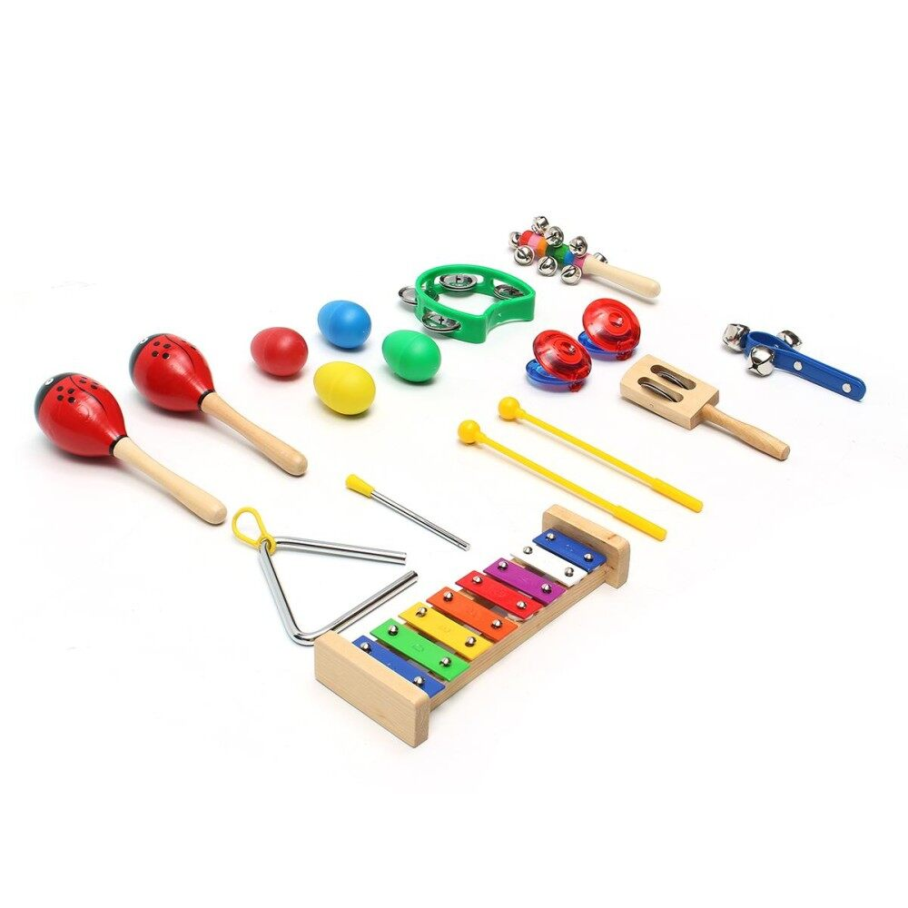 Musical Instruments Educational Set For Kids Percussion Toy Christmas Gift Dy By Moonbeam.