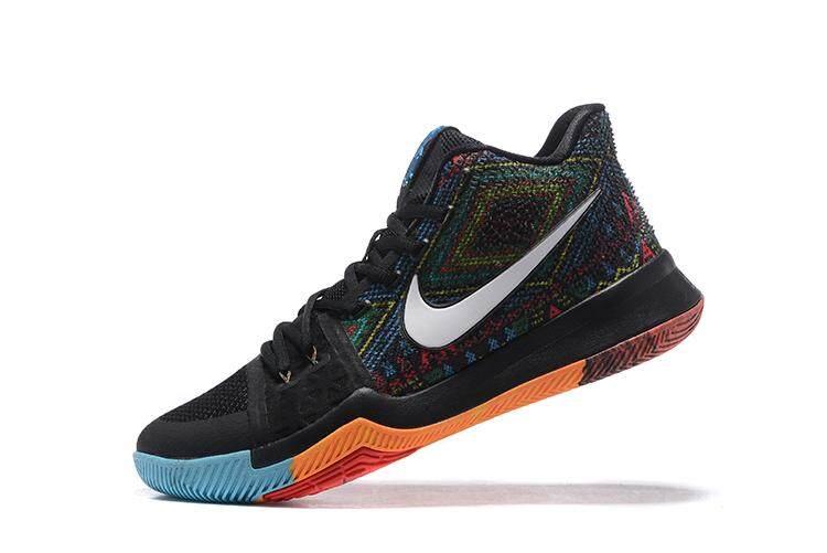 94f7abccc Black Kyrie Irving 3 Shoes NBA Boston Celtics Shoe Men s Breathable  BASKETBALL SHOES 2018 Original Official