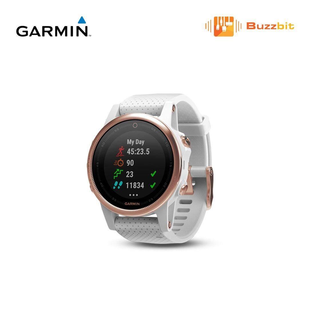 Fitur Garmin Fenix 5 Slate Gray Sapphire Black Multisport Gps 5x Grey 5s Glass Compact Watches
