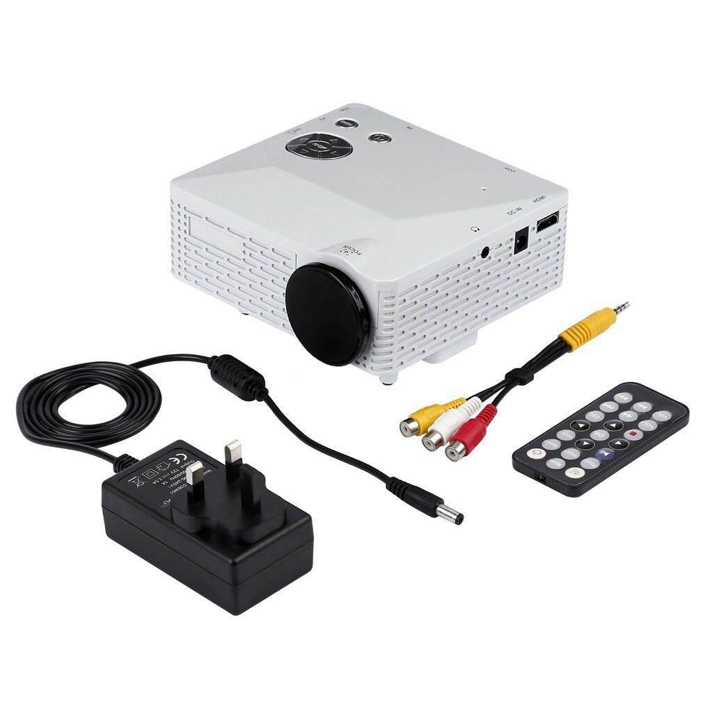 Portabel YANG BAGUS Mini LED Projector dengan USB VGA HDMI AV Multimedia untuk Pesta Rumah-Internasional