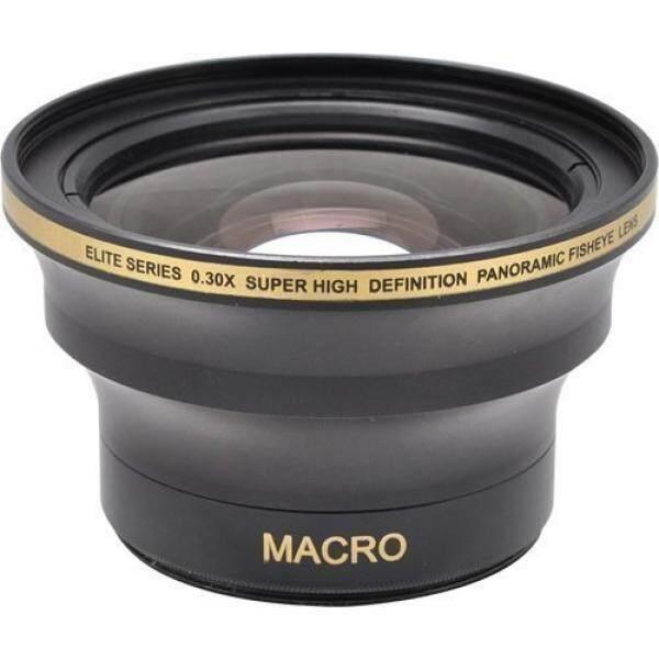 58 Mm & 52 Mm 0.30x Konversi Fisheye Lensa dengan Macro untuk Nikon D3100, D3200, D3300, d5000, D5100, D5200, D5300, D5500, D7000, D7100, D7200, D90, D300, d600, D610, D700, D750, D800, D810 DSLR Kamera-Internasional