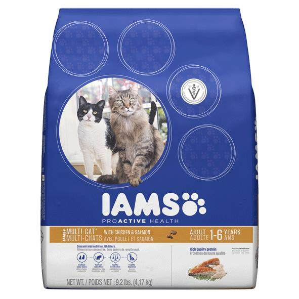 [IAMS] PROACTIVE Health Multi-cat Complete with Chicken & Salmon - 16LBS