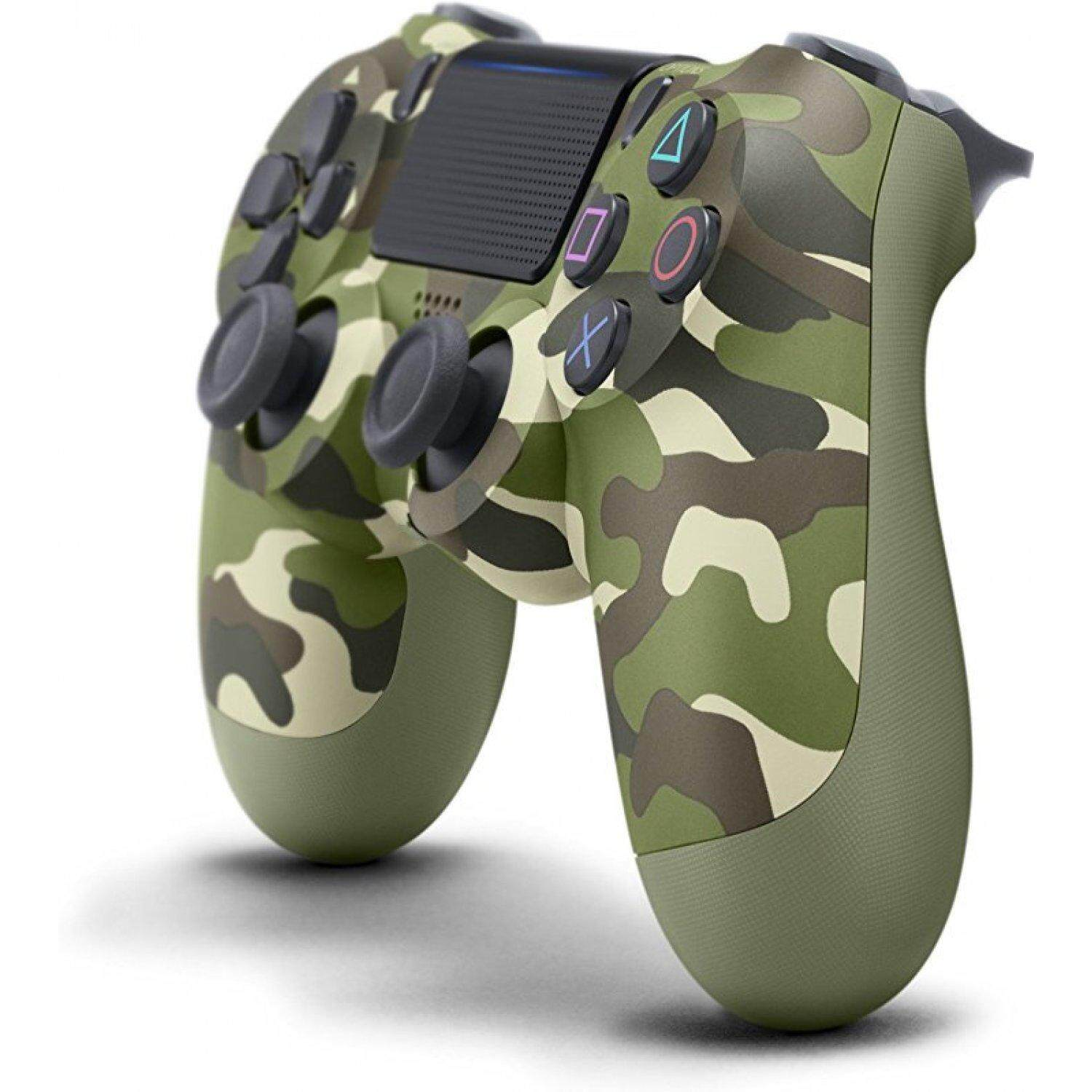 Kios Sony Playstation 4 Slim Console Cuh 2006b Ps4 Player 1tb 500gb 2006a Controller Dualshock Green Camouflage Colour Zct2g Gc Original