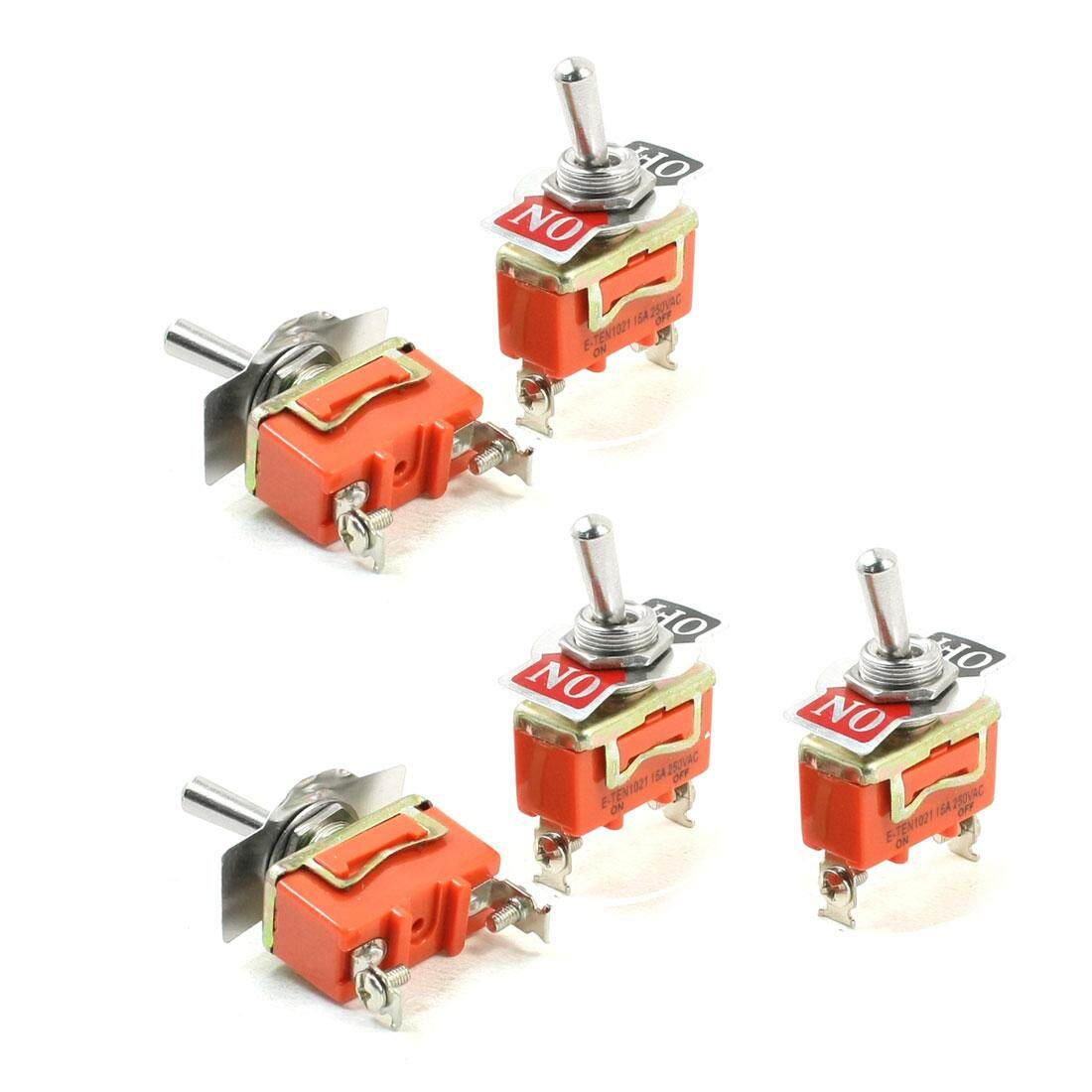 Features Axa Ac 380v 20a 4kw 3 Positions 3no 3nc Latching Rotary 2 Way Changeover Switch 5pcs Panel Mounted On Off Spst Toggle Ac250v 15a