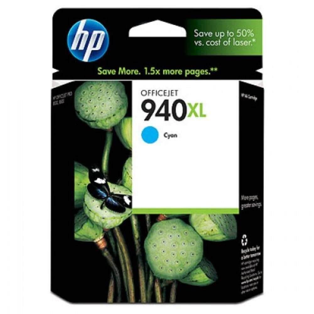 HP 940XL Cyan Officejet Ink Cartridge (C4907AA)