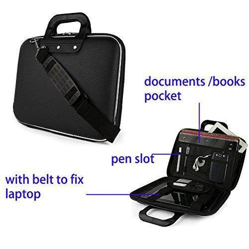 Modis Tas Bahu Laptop Tas Tas Kurir Tas Tas Kantung untuk Lenovo Yoga 15/Fleksibel 3/IdeaPad 15.6 /ThinkPad/Z51/G40/Z41/G50/MSI GS63VR/GT Seri/Prestige-Internasional