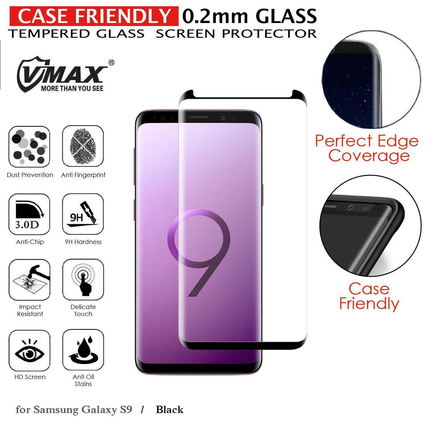 Samsung S9 Case Friendly Side Gule 1Pack