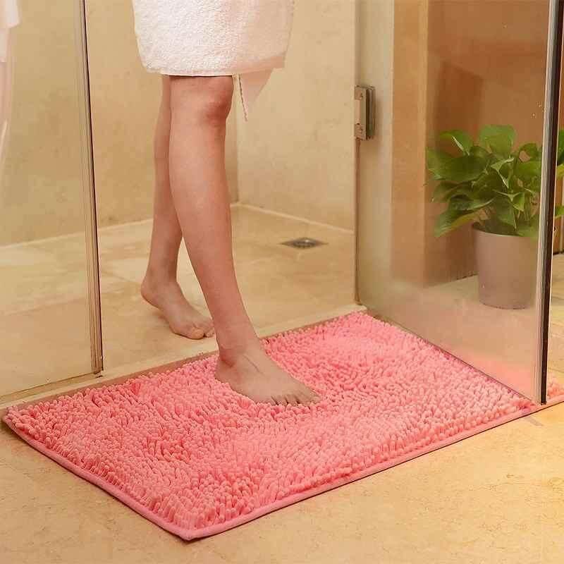 Zoahu Bath Mat Toilet Carpet Door Mat Mats And Rugs For Bathroom Rug Kitchen Carpets Bedroom Floor Absorbent Doormat Outdoor - Intl By Zoahu.