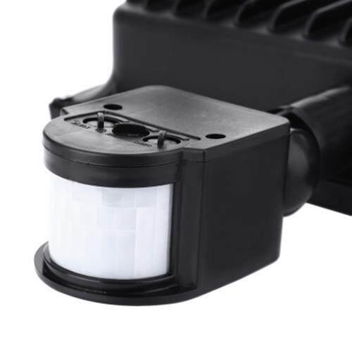 AC 85 - 265V 50W 4800 - 5000LM HUMAN BODY INFRARED SENSOR LED FLOOD LIGHT (COOL WHITE LIGHT)