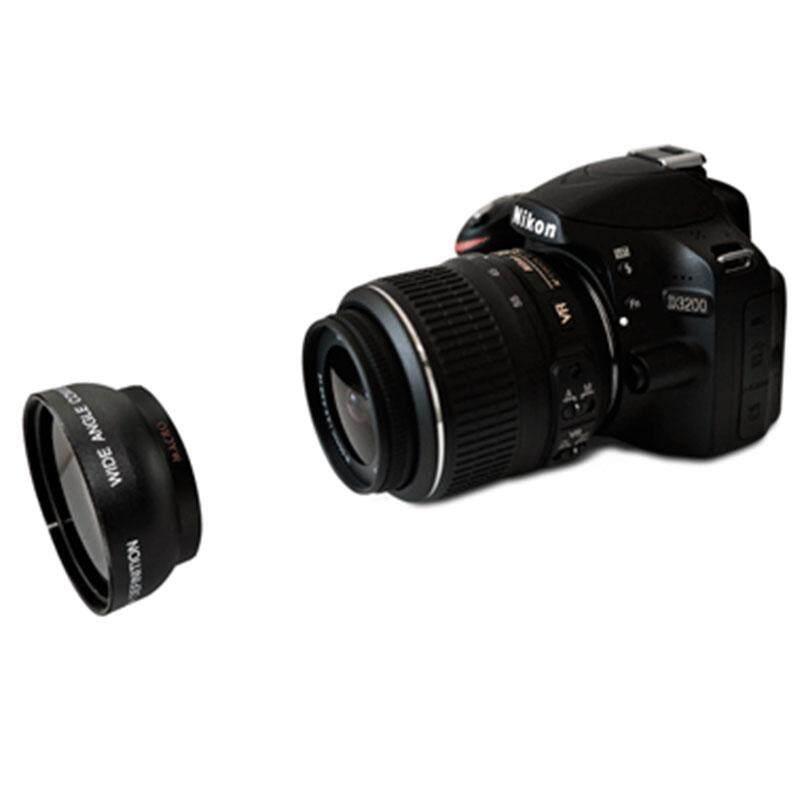 52mm 2x Telephoto Tele Lens Converter For Nikon D5100 D3200 D70 D40 DSLR Camera - intl
