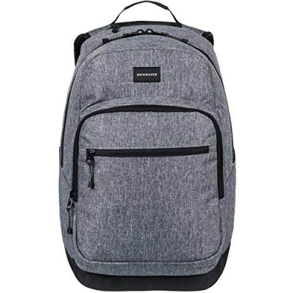 Quiksilver Pemuda Schoolie Khusus Aksesoris Ransel-Light Grey Heather, 1SZ-Intl