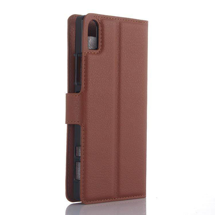 Wallet Leather Flip Cover Case For Lenovo Vibe Shot Z90