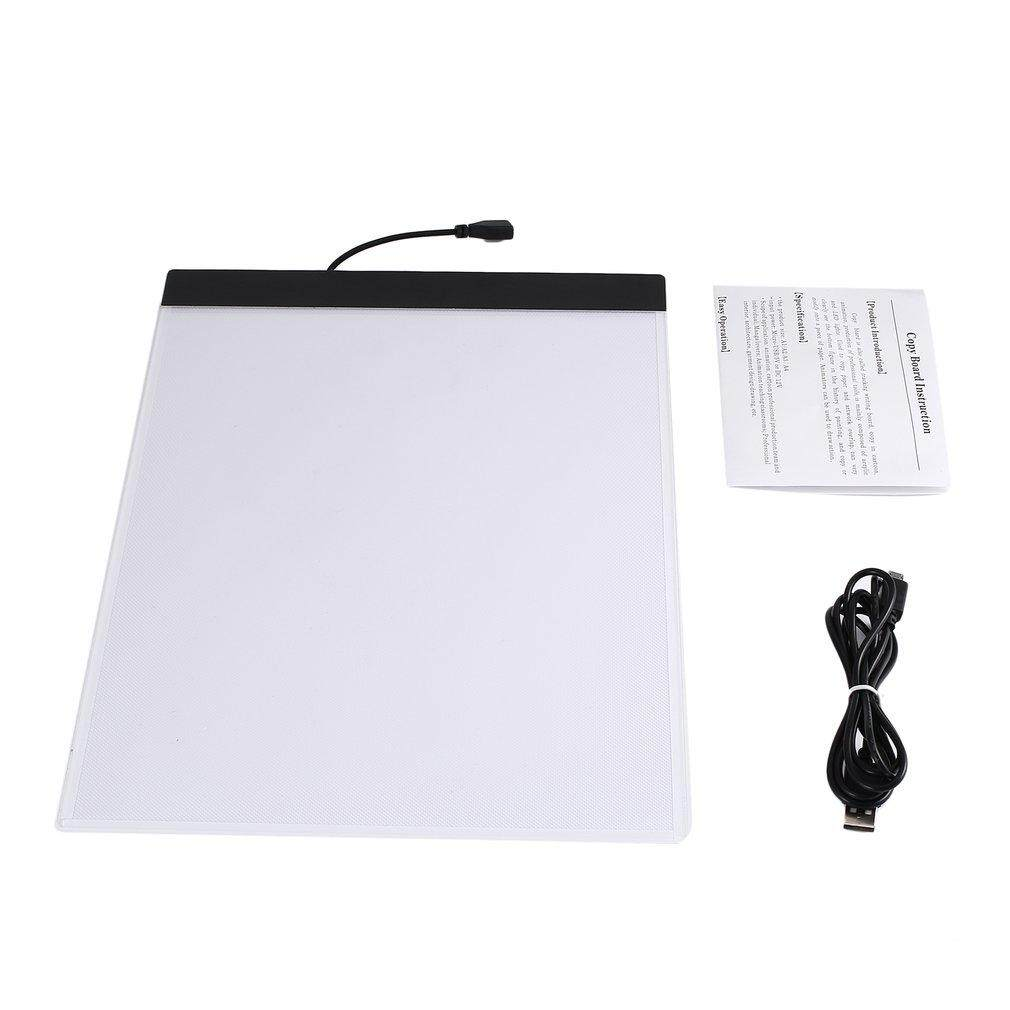 ERA K02 A4 Paper Size Copying Board Ultra Thin LED Luminous Portable Painting Pad - intl