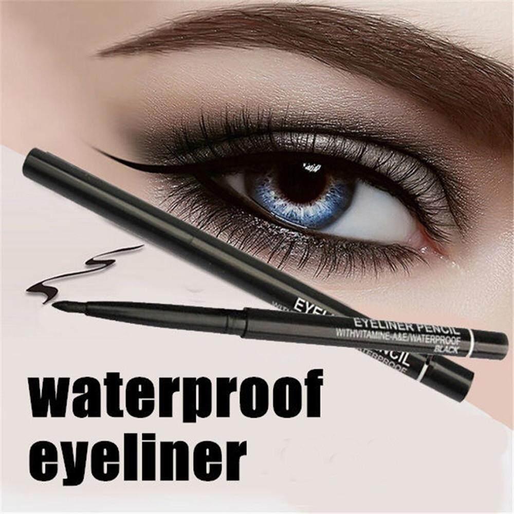 Kehebatan Wanita Anti Air Teleskopik Putar Eyeliner Pensil Warna Gambar Produk Penggaris Mata Kosmetik Alat Internasional Lengkap