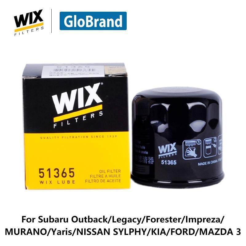 WIX Mobil Minyak Penyaring 51365 untuk Subaru Outback/Legacy/Forester/Impreza/Murano