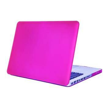 การส่งเสริม Matte Rubberized Hard Case Cover for Macbook ProLaptop Shell- Pro 13 inch Purple red ซื้อที่ไหน - มีเพียง ฿1,010.00
