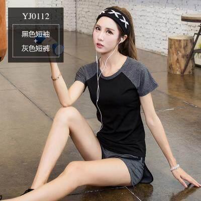 (Pre Order 14 days) JYS Fashion Korean Style Women Sport Wear Set Collection 540 - 8584 set 4