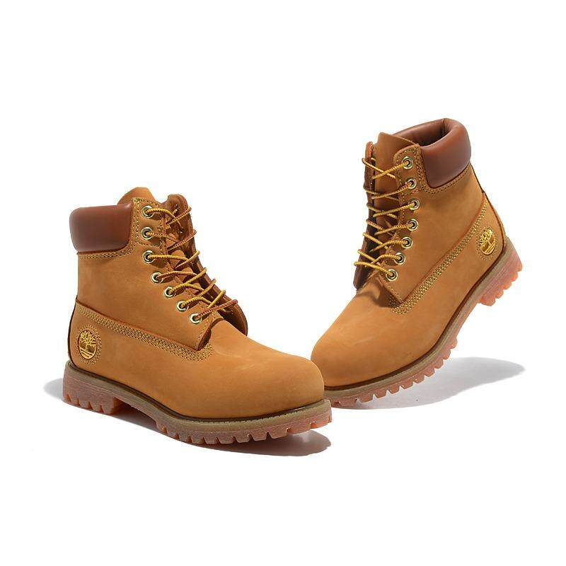 TIMBERLAND MEN S ICON 6-INCH PREMIUM BOOT WHEAT YELLOW GOLD THREAD EU 36 6c3b26b802