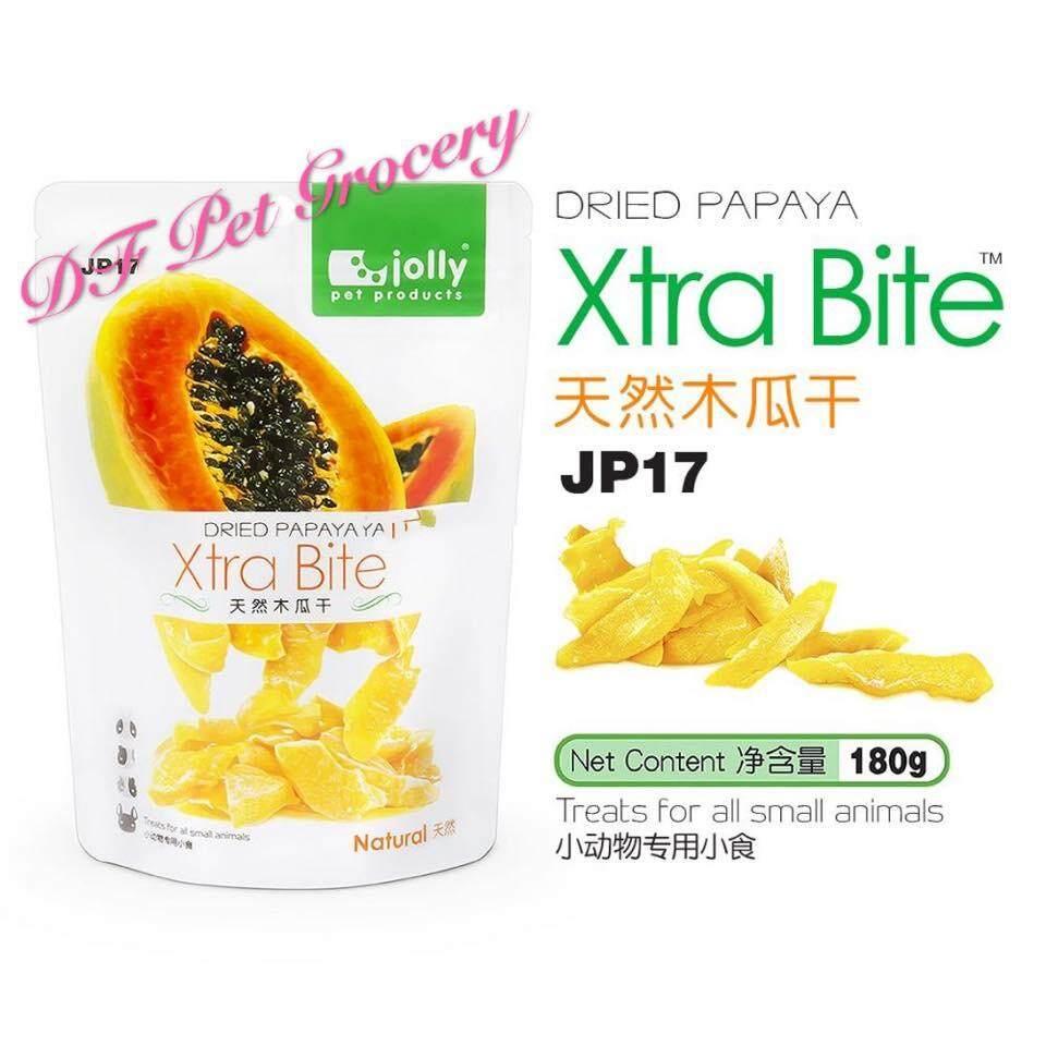 Jolly Dried Papaya 180g (Xtra Bite) JP17 - Treats For all small animals