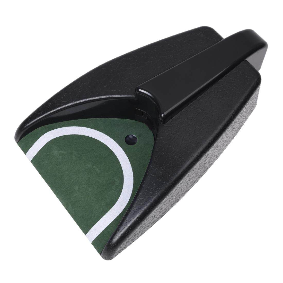 Battery Operated Auto Return Putting Mat Golf Practice Cup Intl Price