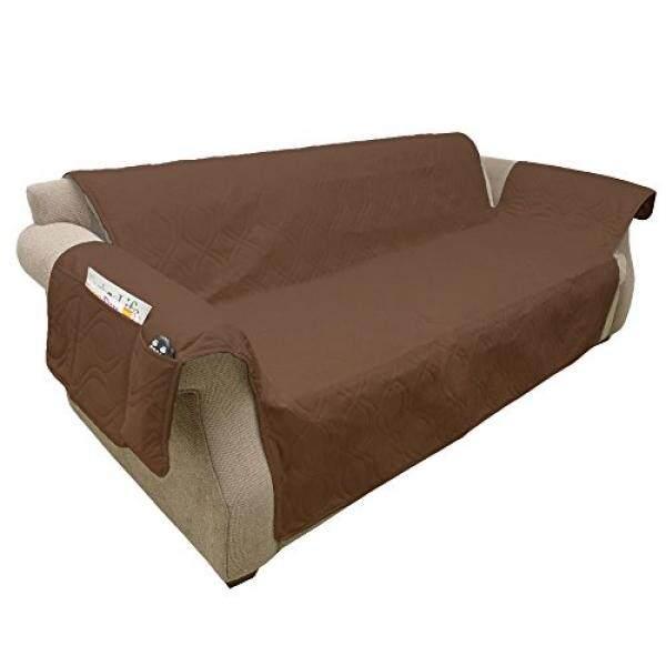 Furniture Sarung, 100% Anti-Air Pelindung Sarung untuk Sofa/Sofa Petmaker, Non-slip, tahan Noda, Bagus untuk Anjing, Hewan Peliharaan, dan Anak-anak-Cokelat-Internasional