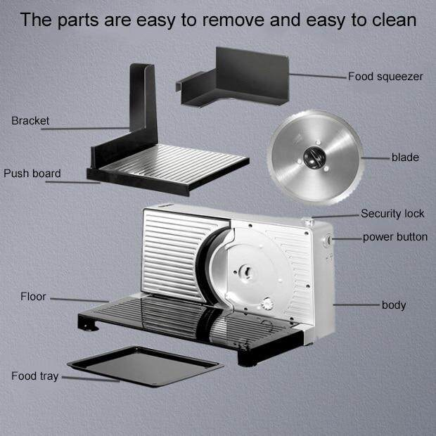 Electric Meat Slicer Machine For Commercial Or Home