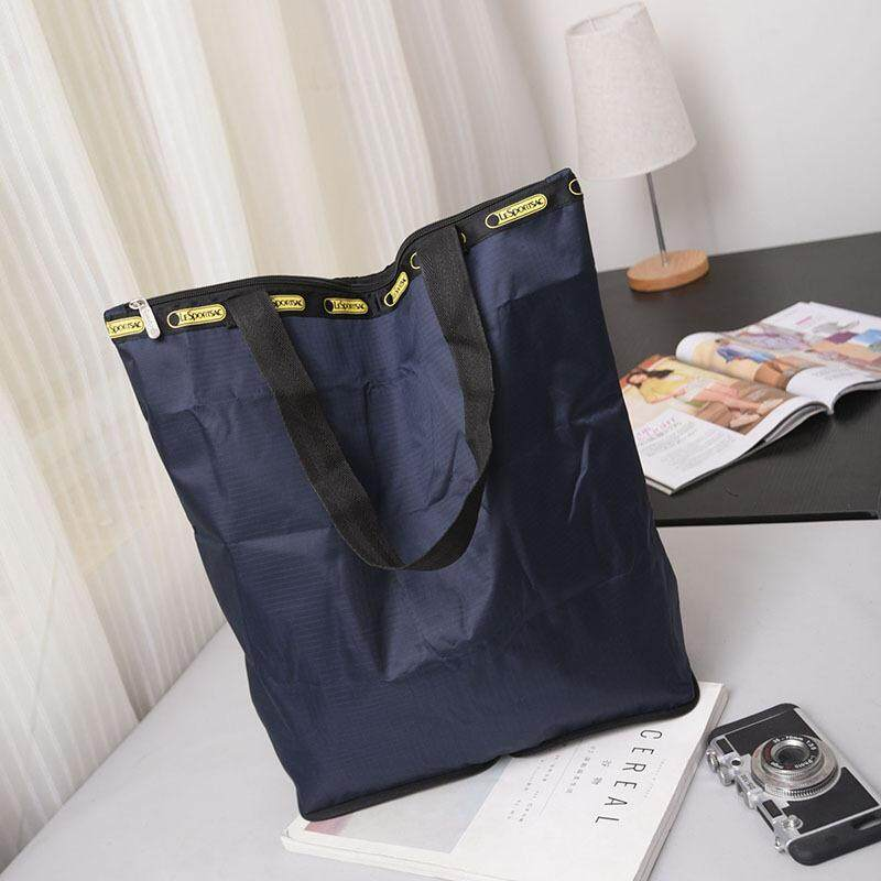 Eco Friendly Shopping Bags Waterproof Travel Custom Reusable Handbag Women Shoulder Cloth Pouch Foldable Grocery Bulk Organizer