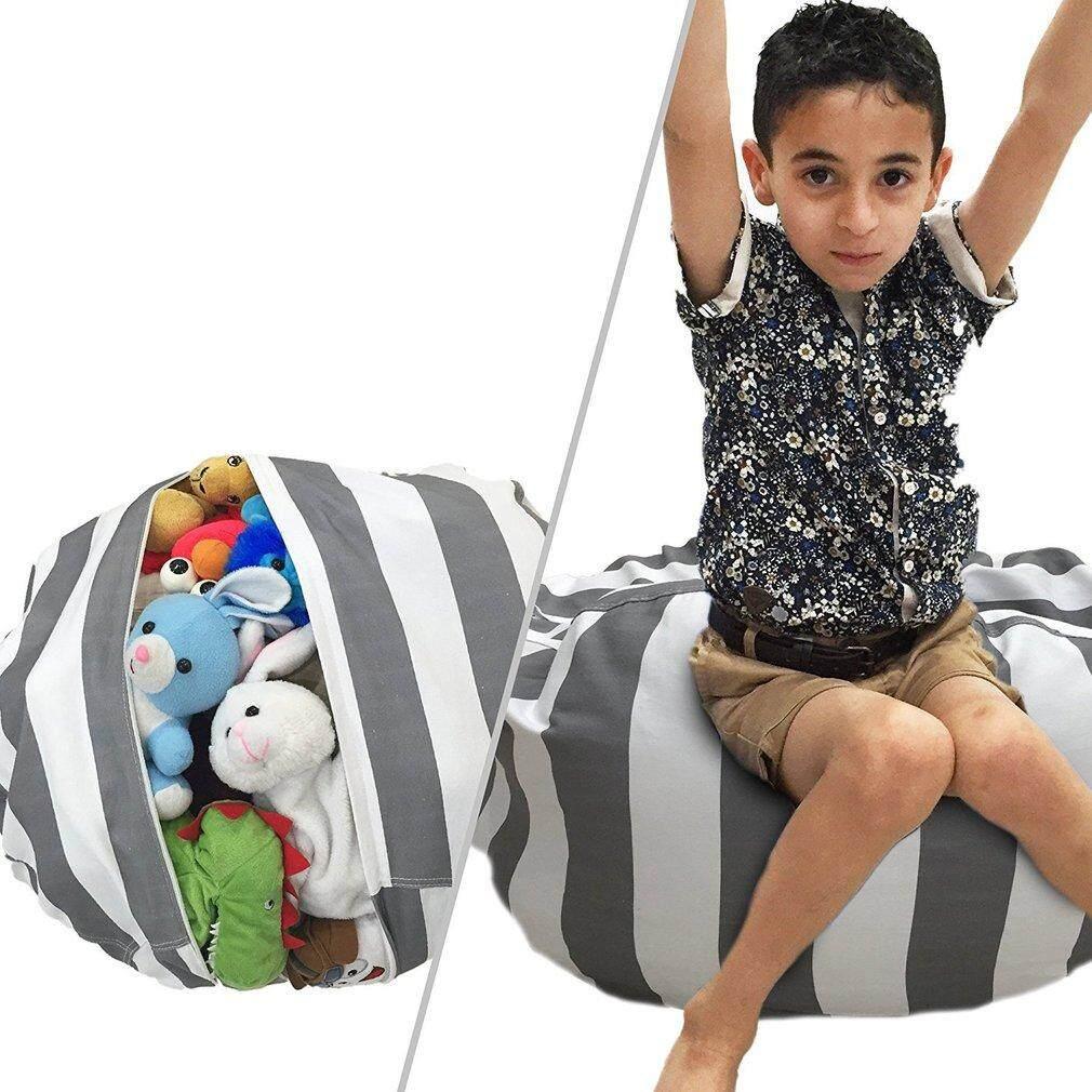 B-Life Creative Stuffed Plush Toys 55CM/80CM Stripe Waterproof Storage Bean Bag - intl