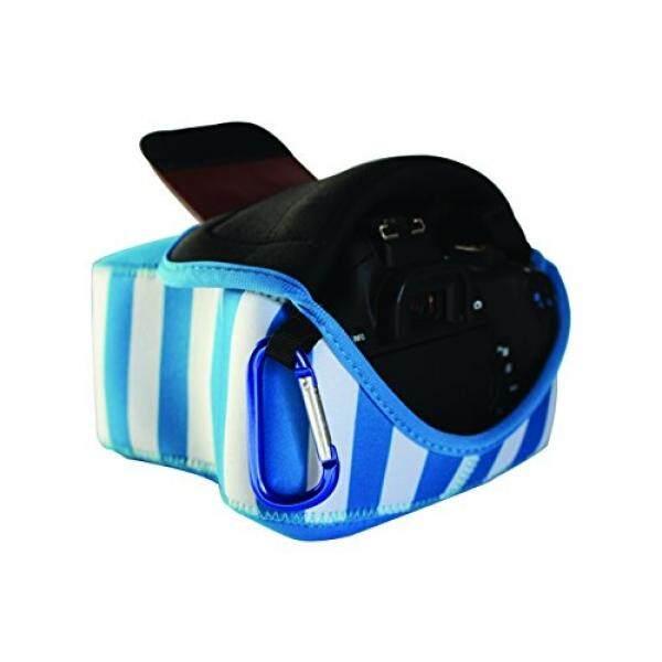 DSLR Sarung Kamera Neoprene dengan Mengeksplorasi-Semua Tahan Air Ringan, Ritsleting Penyimpanan-untuk Canon, Fuji nikon, Olympus, Panasonic, Pentax, Samsung, Sony dan Banyak Lagi Digital Kamera SLR-Intl