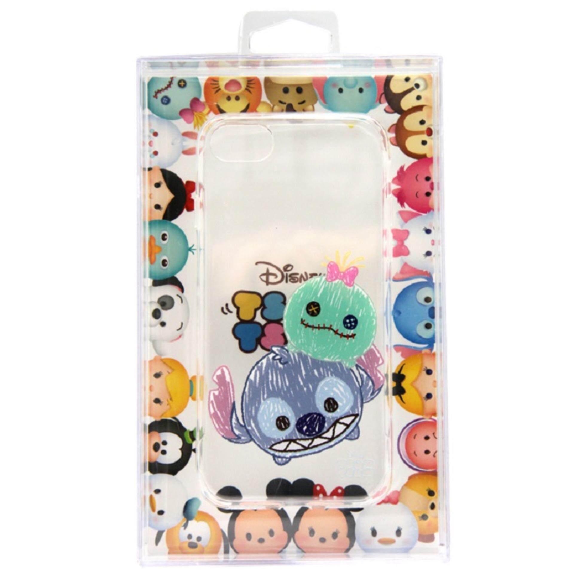 Disney Tsum Tsum Transparent iPhone 7 Case - Stitch