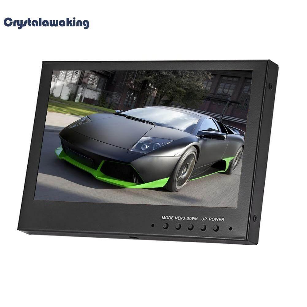 Black 7in Digital Led Screen Hdmi Vga Av Monitor Hd Car Display With Remote Control By Crystalawaking.