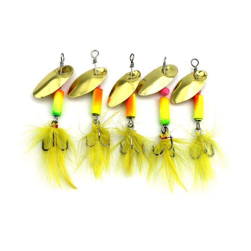 Features Hengjia Spoon Fishing Lures Making Metal Spinner Lure Bait 10 Pcs Plus Box Detail Gambar Terbaru