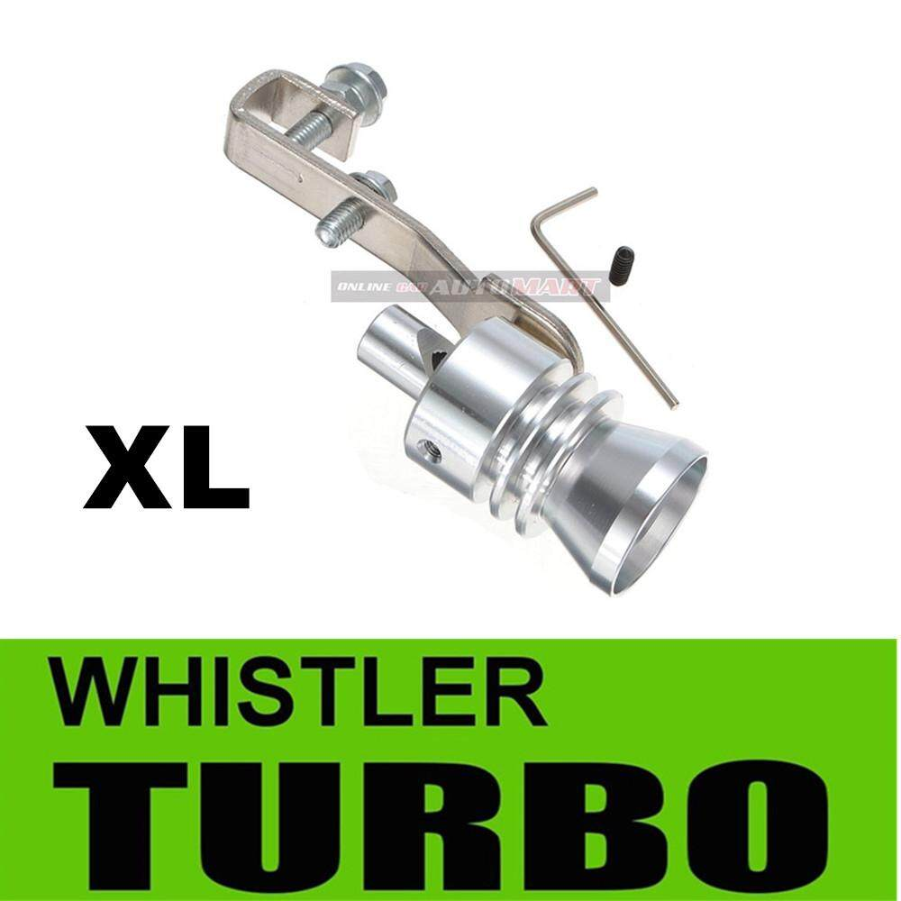 UNIVERSAL Turbo Muffler Exhaust Sound Whistle (Sounds Like Real Turbo)-XL