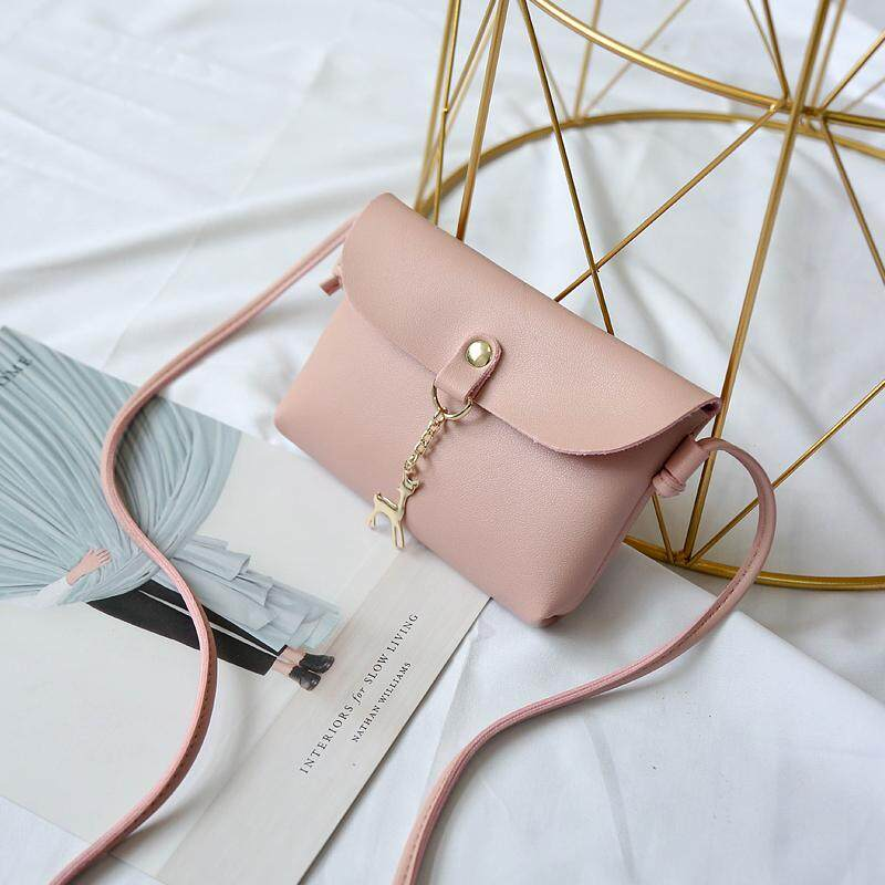 Women Korean style clutch bag with sling