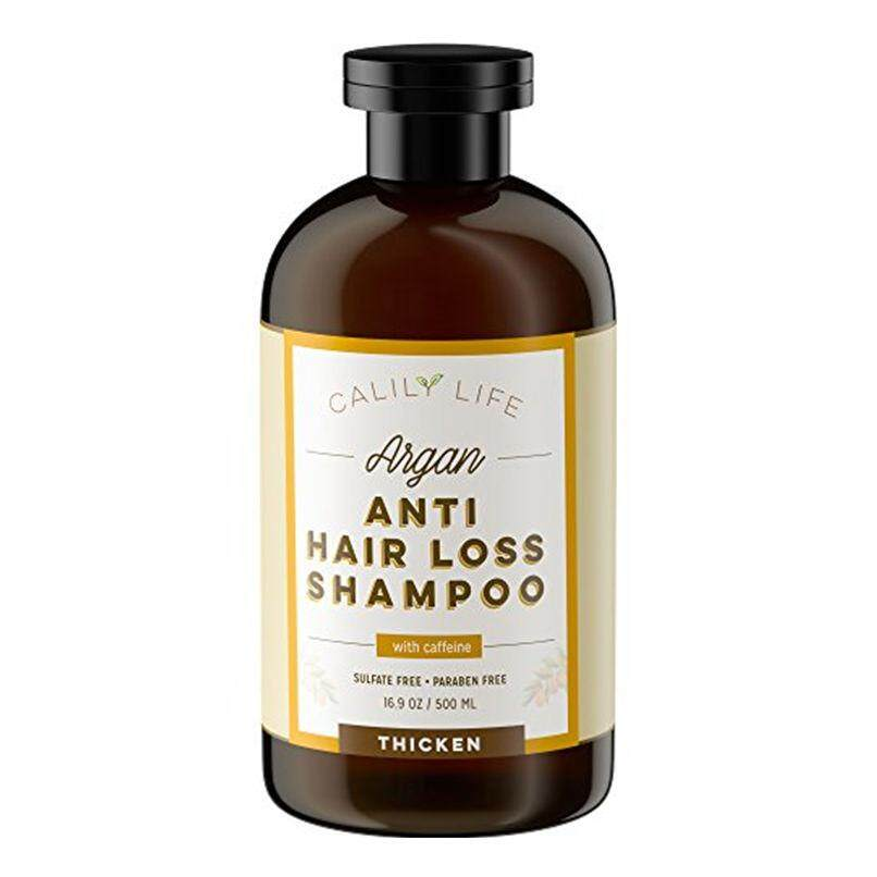 Calily Calily Life Organic Hair Growth And Anti Hair Loss Shampoo 16 9 Oz For Men Women Infused With Caffeine Argan Oil Vitamins B5 Protects Against Hair Loss Strengthens Thickens From Usa Intl Review