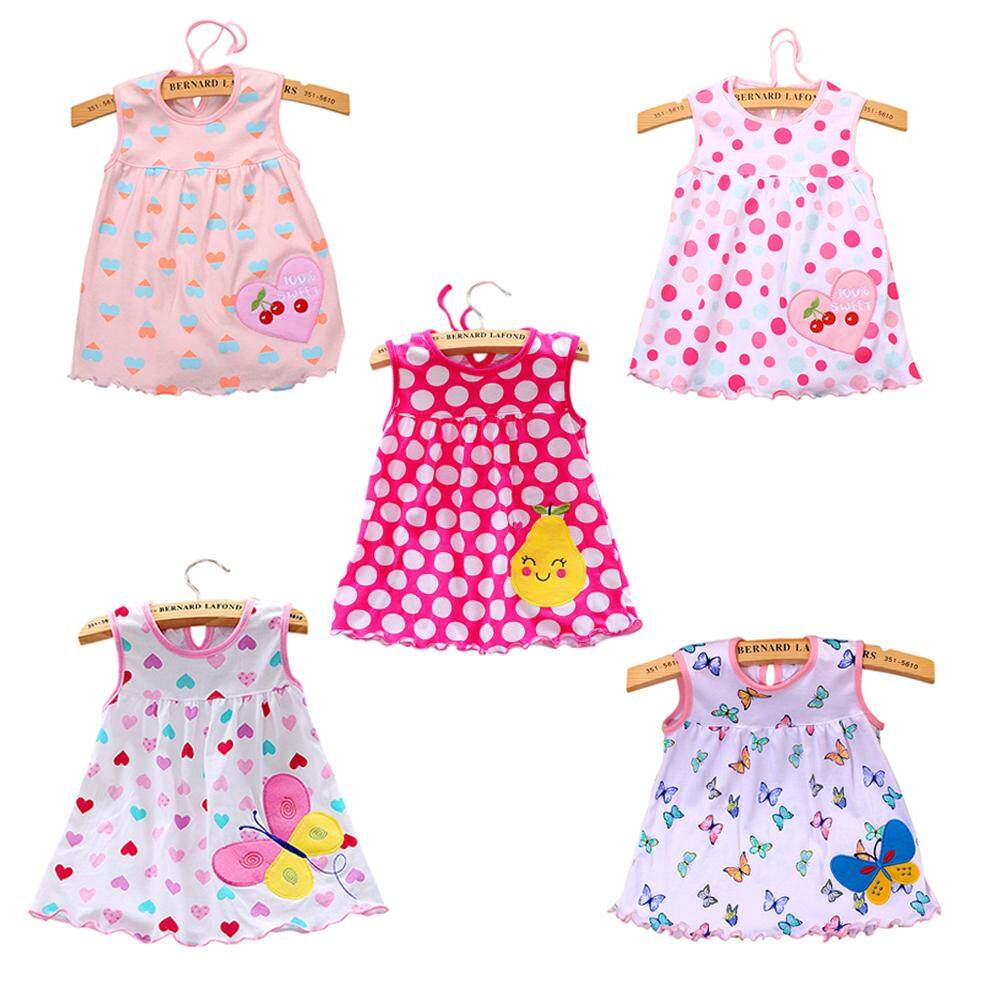 78152eea50eb SaiDeng 5pcs/Pack Girl Princess Embroidery Dress Skirt Party Wedding Outfits  Gift