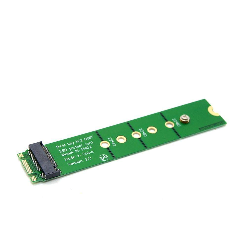 PCI-E 2 Lane M.2 B + M Kunci NGFF SSD Male Ke Female Ekstensi Adaptor Menambahkan Kartu-Intl
