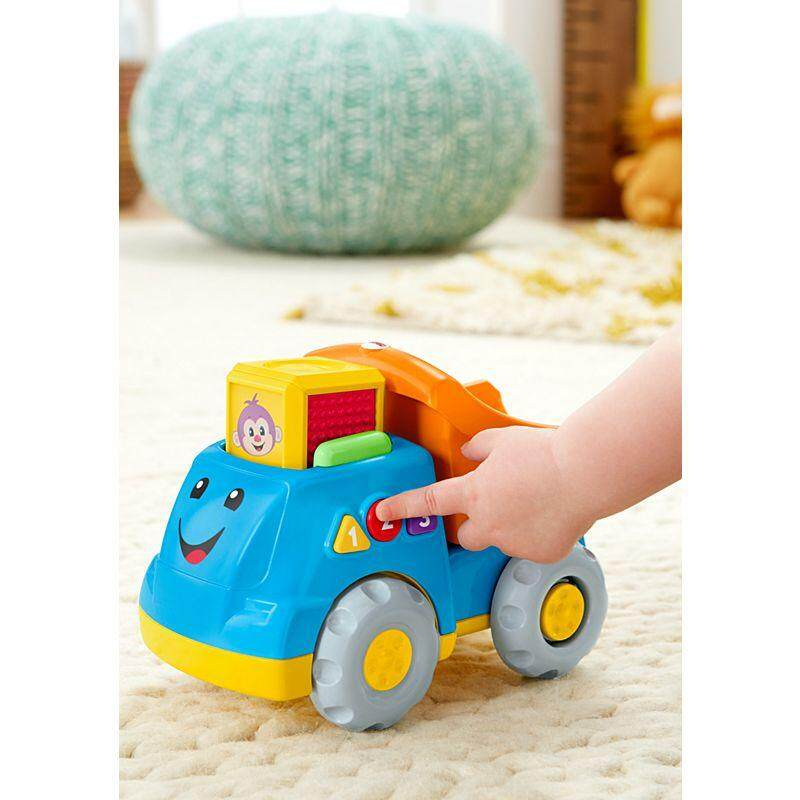 [Fisher-Price] Laugh & Learn First Word Fill & Dump Truck Vehicle baby toys